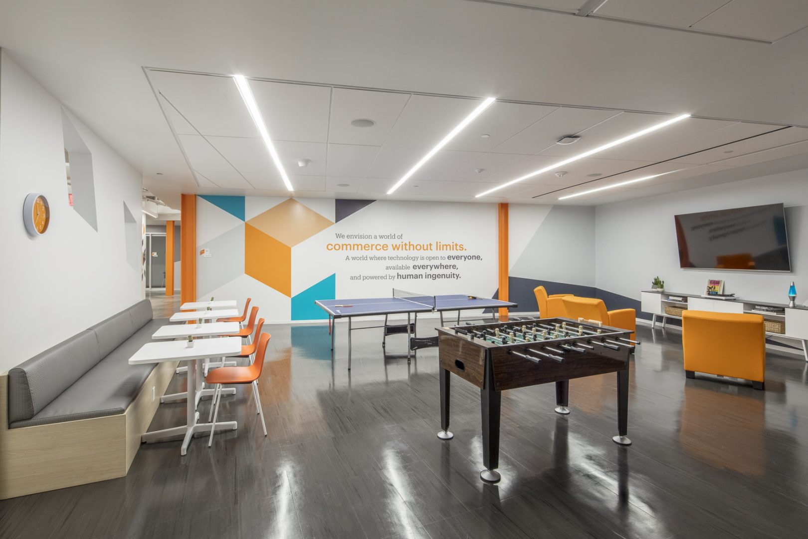Corporate Technology Interior Design Magento Austin Breakout Space