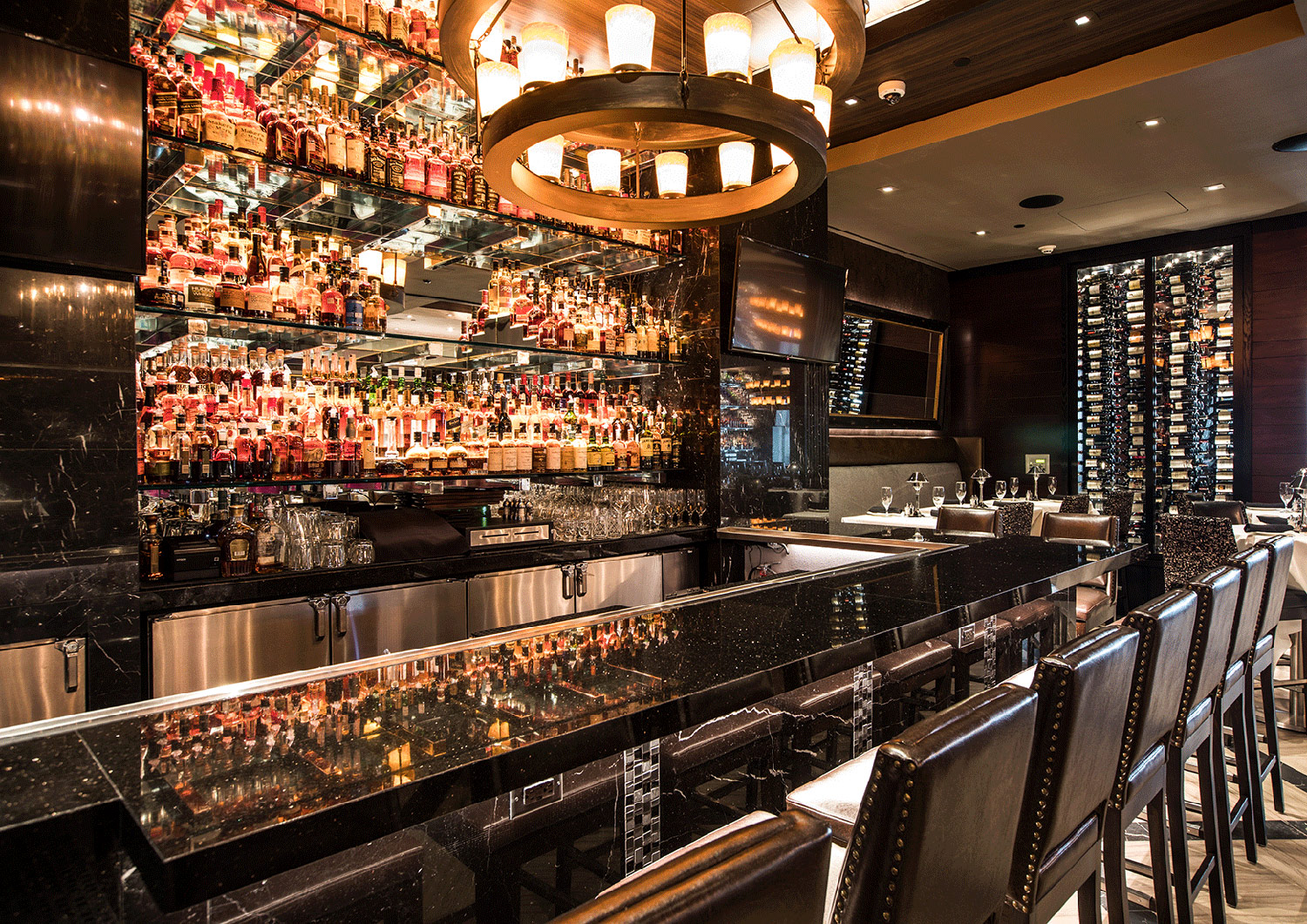 Restaurant Hospitality Interior Design Mastro's Houston Post Oak Bar
