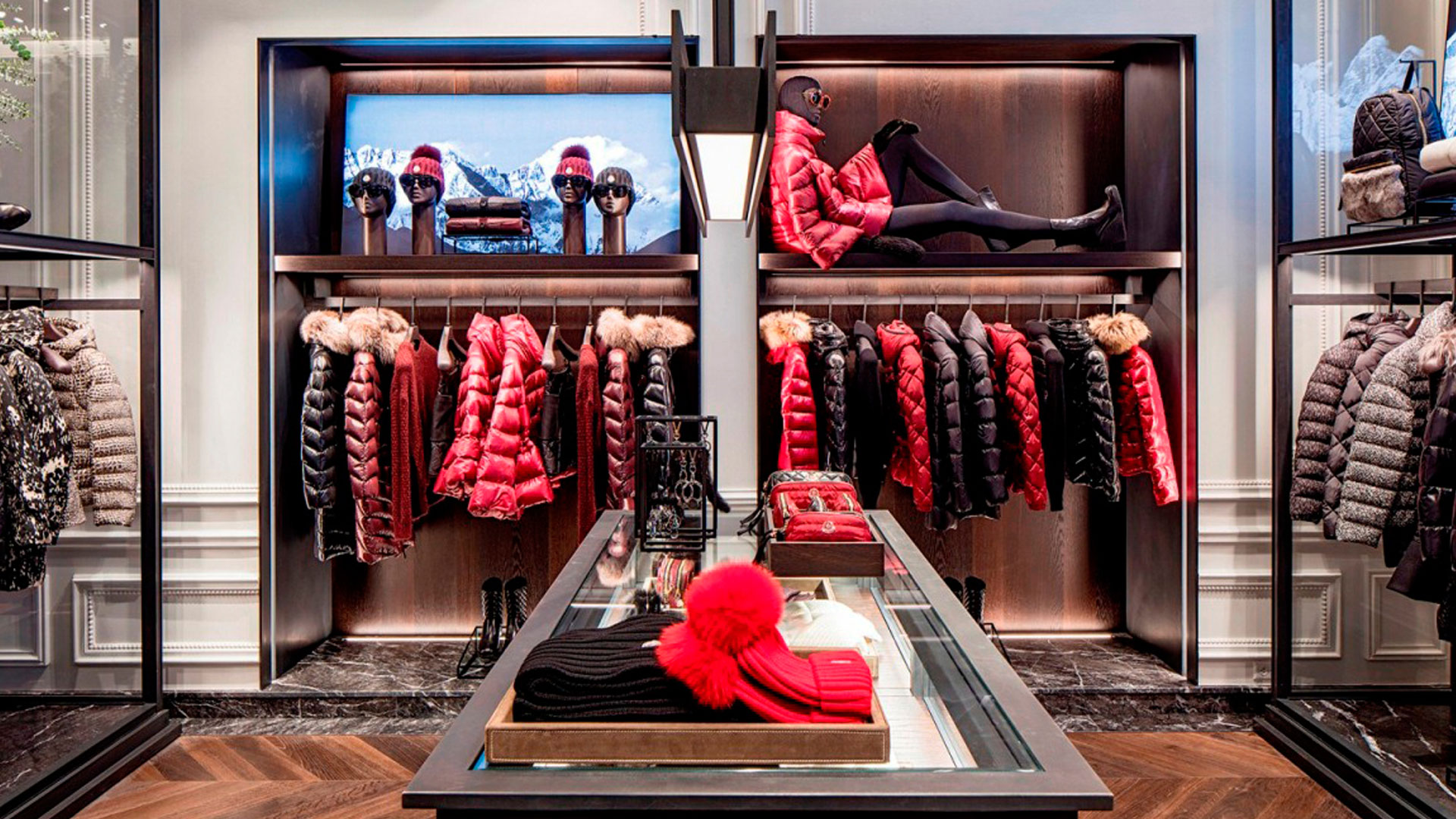 Commercial Retail Interior Design Moncler Houston