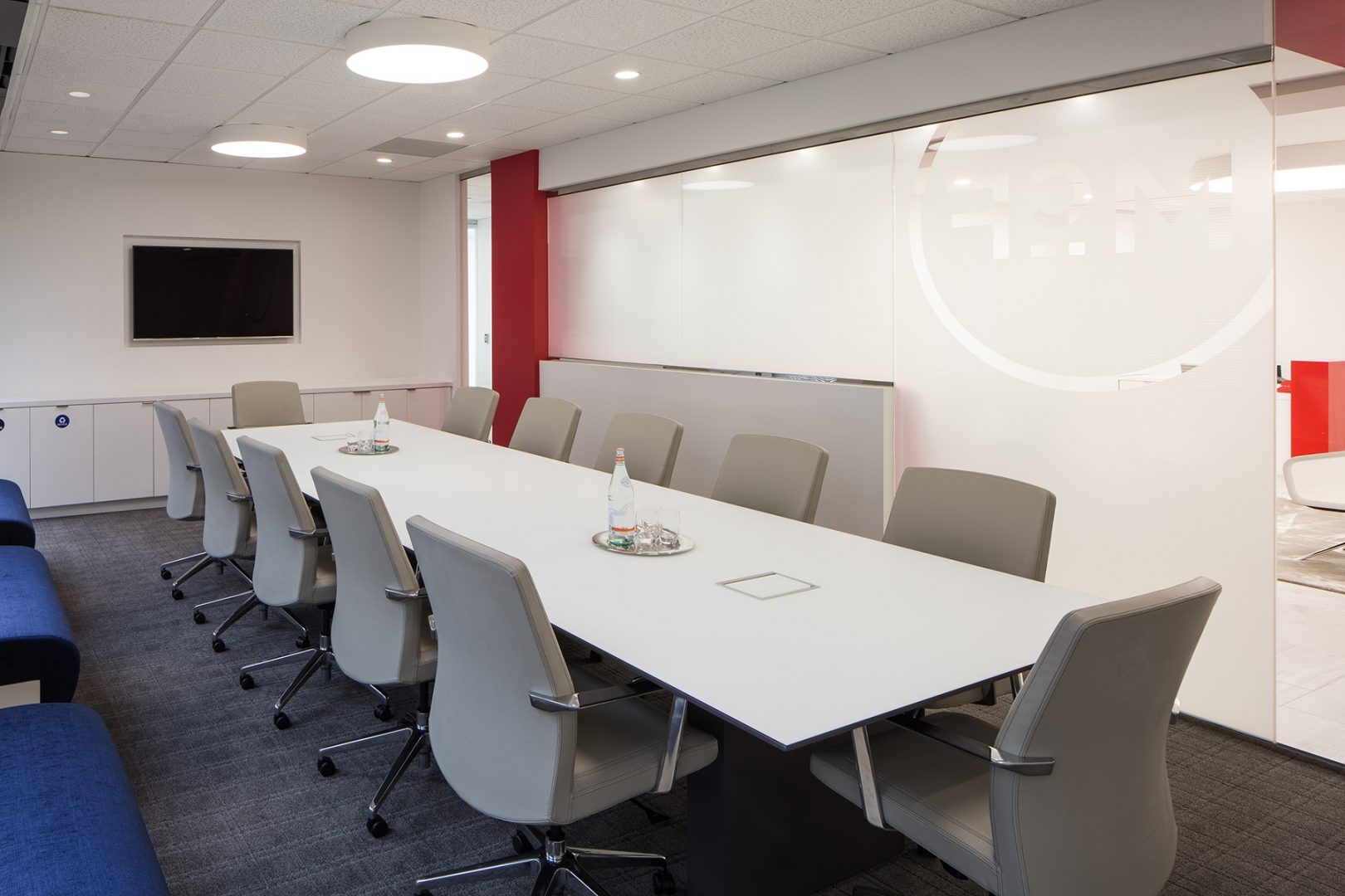 Corporate Interior Law Design McFarland Houston Conference Room