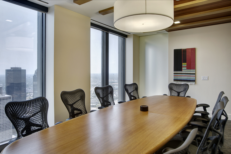 Corporate Law Interior Design Houston Steele Sturm Conference Room