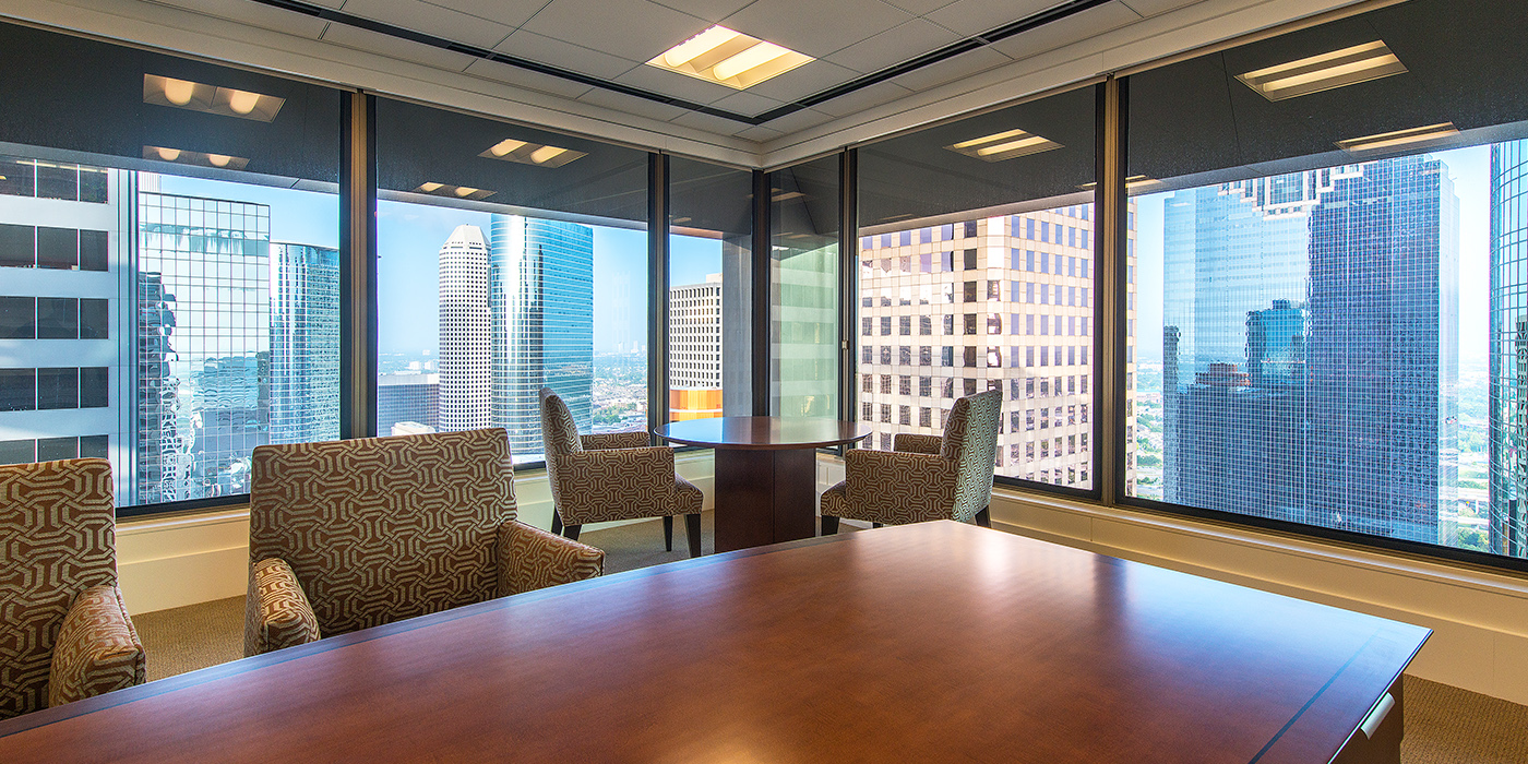 Corporate Interior Design Superior Energy Services Traditional Elegant Conference Table
