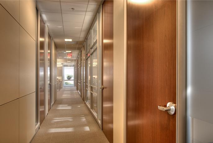 Corporate Interior Design Superior Energy Services Houston Corridor Private Offices