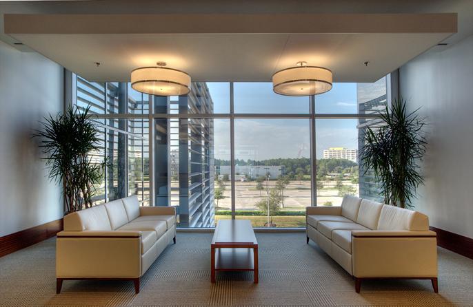 Corporate Interior Design Superior Energy Services Houston Seating Area Sofas