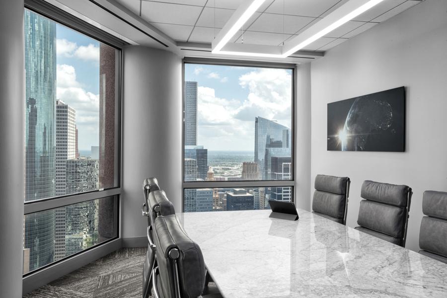 Corporate Hospitality Interior Design Restaurant Houston Strato550 Conference Room Views