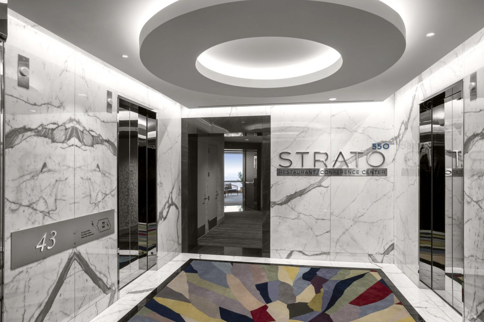 Corporate Hospitality Interior Design Restaurant Houston Strato550 Entrance