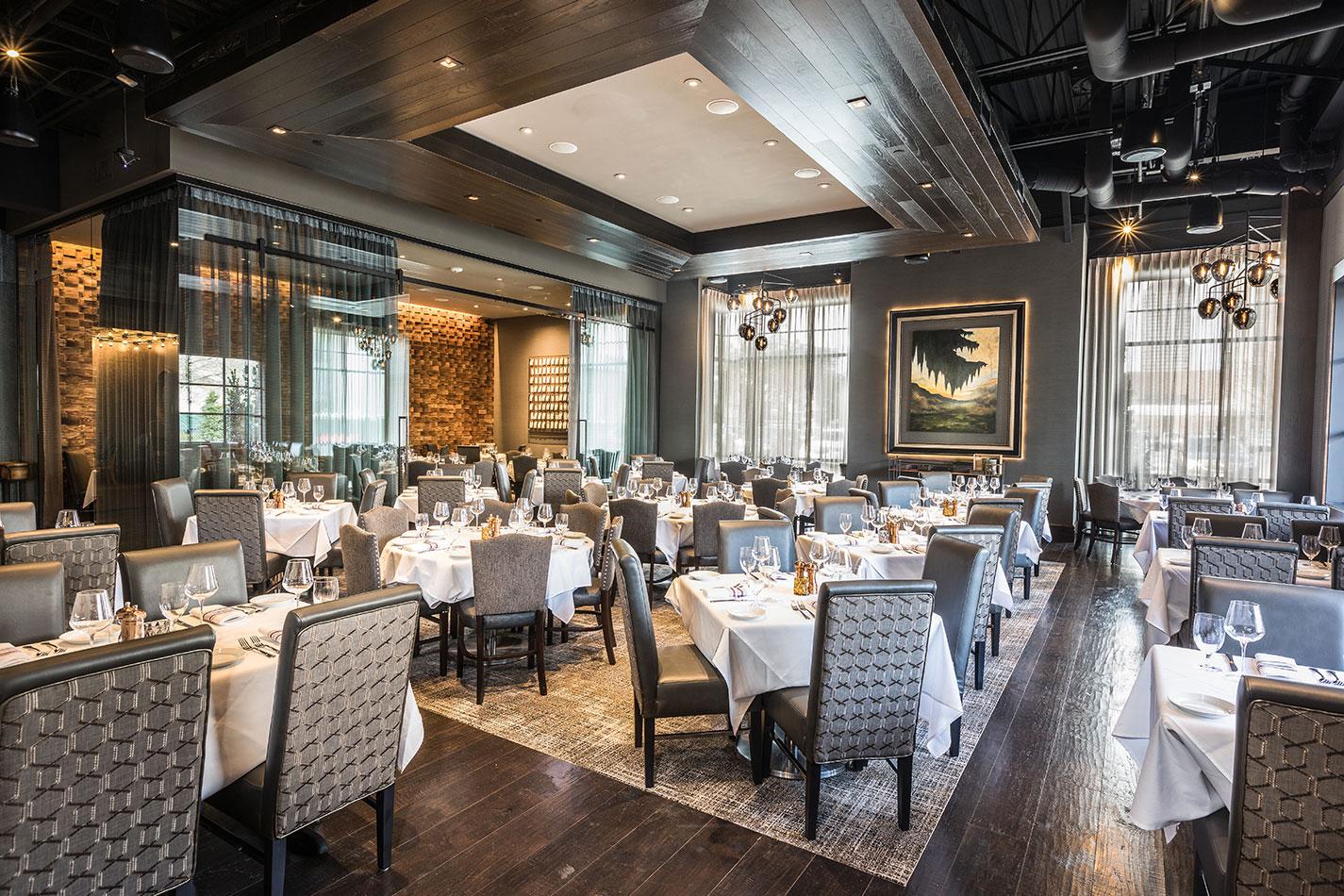 WILLIE G'S HOUSTON Hospitality Restaurant Interior Design Elegant Dining Area