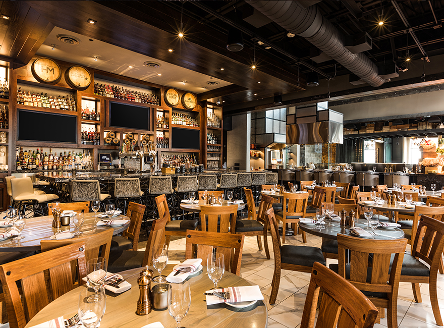 WILLIE G'S HOUSTON Hospitality Restaurant Interior Design Bar Dining