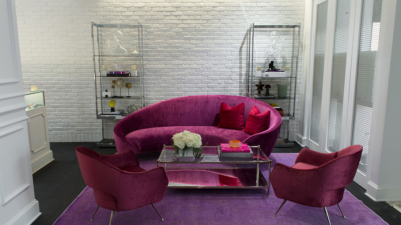 Commercial Retail Interior Design Ylang 23 Dallas Colorful Seating Group