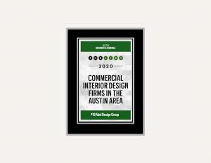 Austin-Business-Journal-Plaque-Abel-Design-Group-Commercial-Interior-Design-Featured