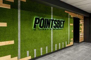 POINTSBET Corporate Interior Design Logo Wall