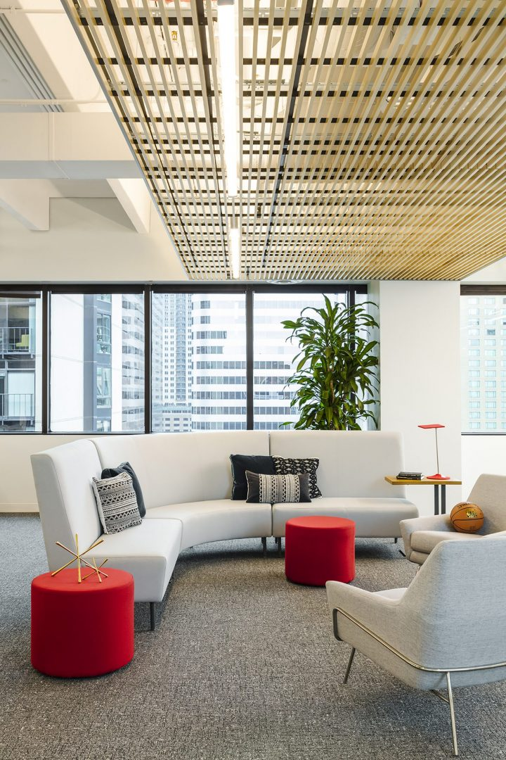 POINTSBET Corporate Interior Design Break Out Space