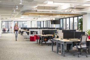 POINTSBET Corporate Interior Design Open Office Space