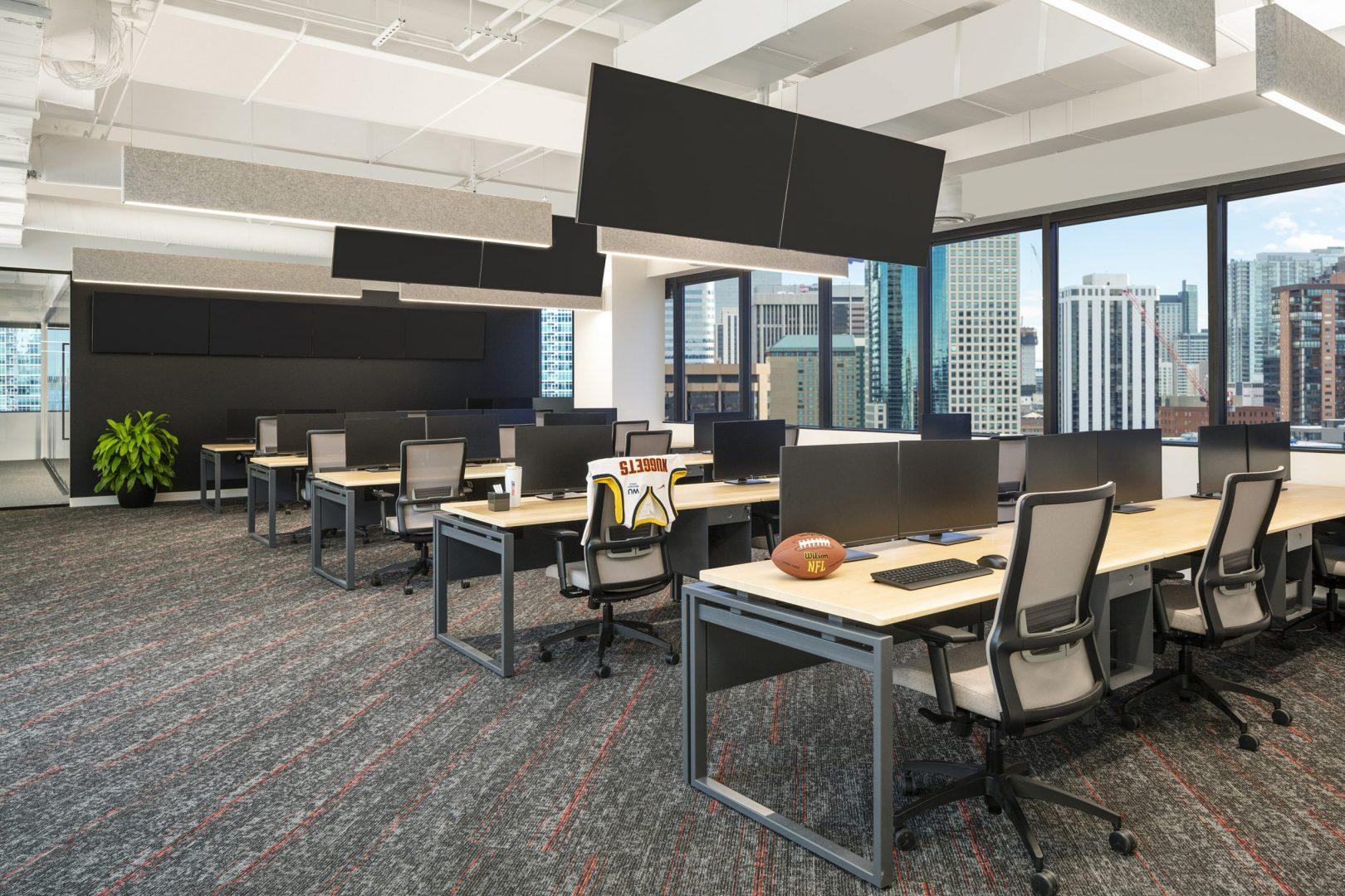 POINTSBET Corporate Interior Design Open Office
