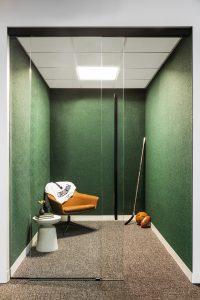 POINTSBET Corporate Interior Design Phone Room