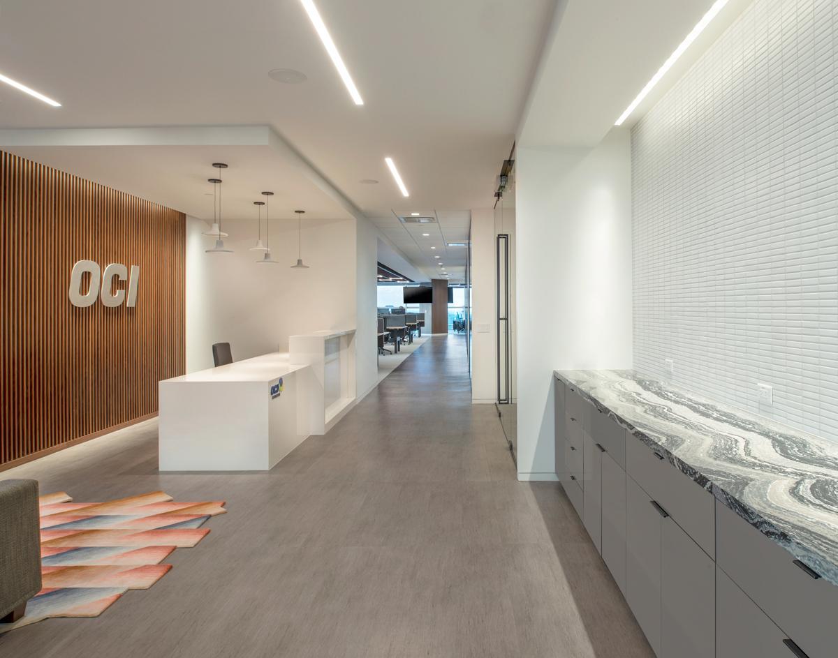 OCI METHANOL Reception Design