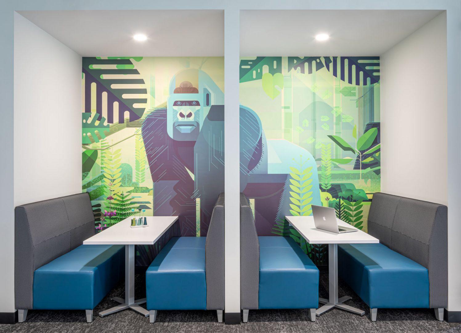 booth design Gorilla Logic Denver office
