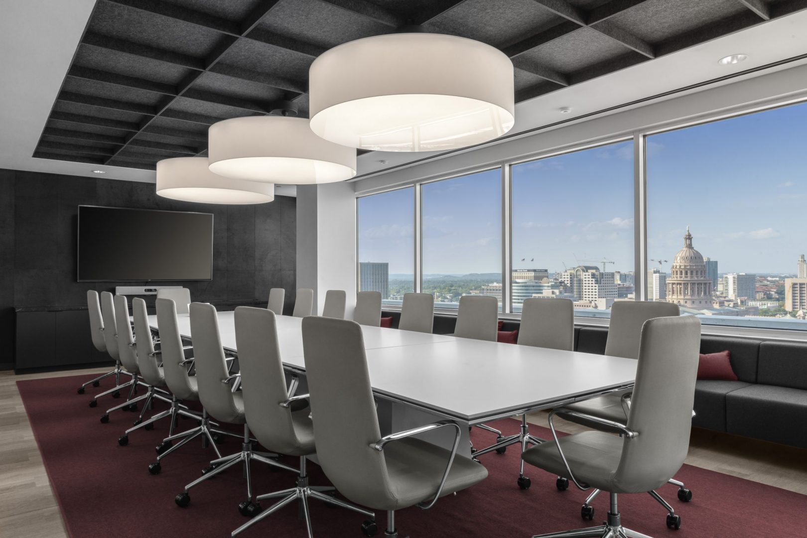 Conference Room Design Austin Capitol View