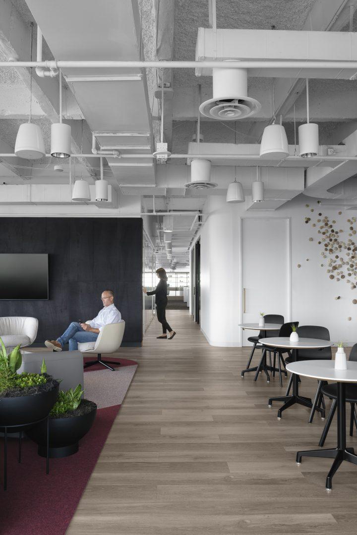 Corporate Lounge Design Austin Tech Client