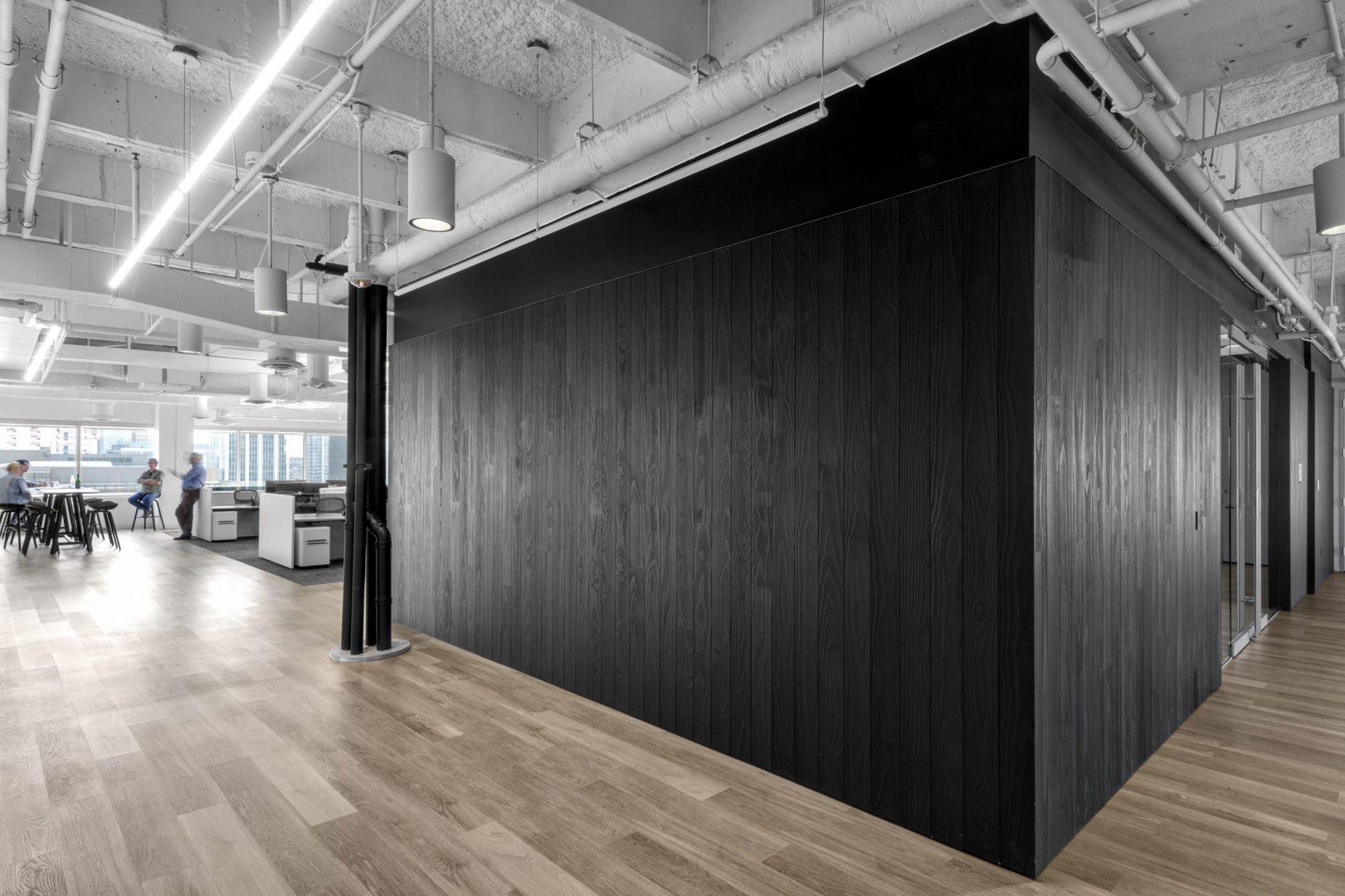 Corporate Open Office Design Austin