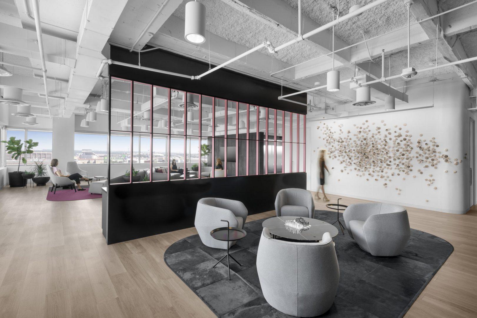 Corporate Reception Area Design Austin