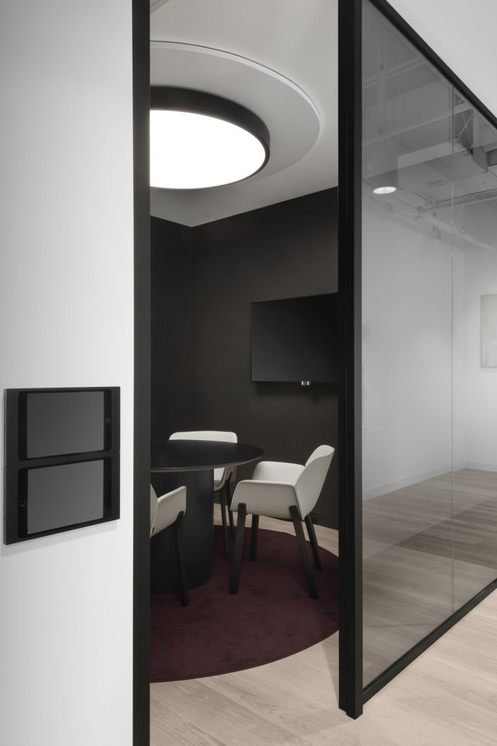 Small Conference Room Design Austin Tech Client