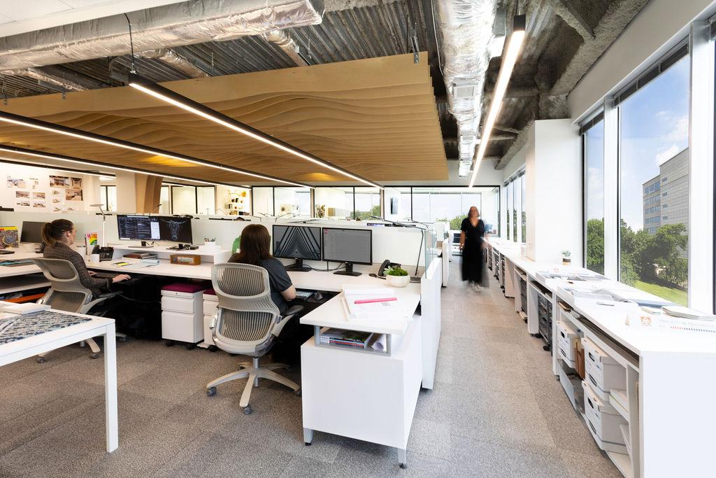 Abel Design Group open office design