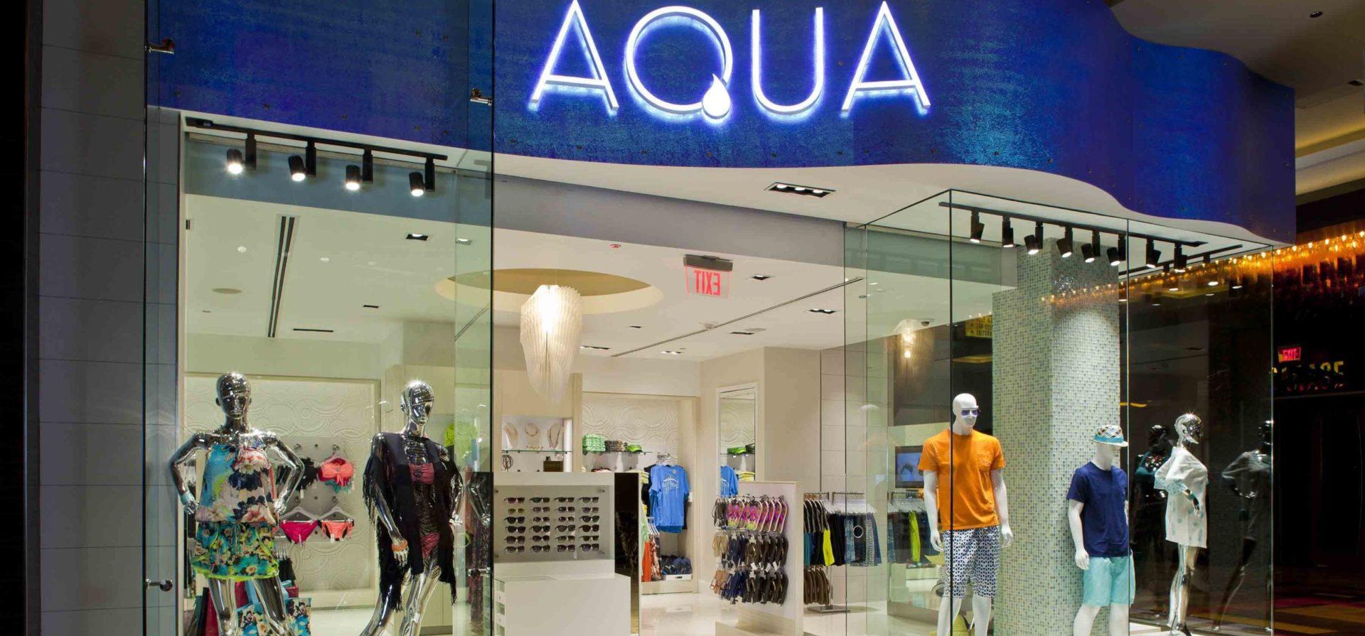 Golden Nugget Retail Stores: Aqua