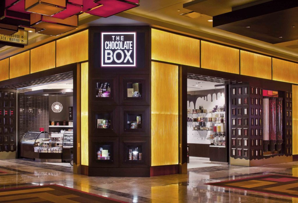 Golden Nugget Retail Stores: Chocolate Box