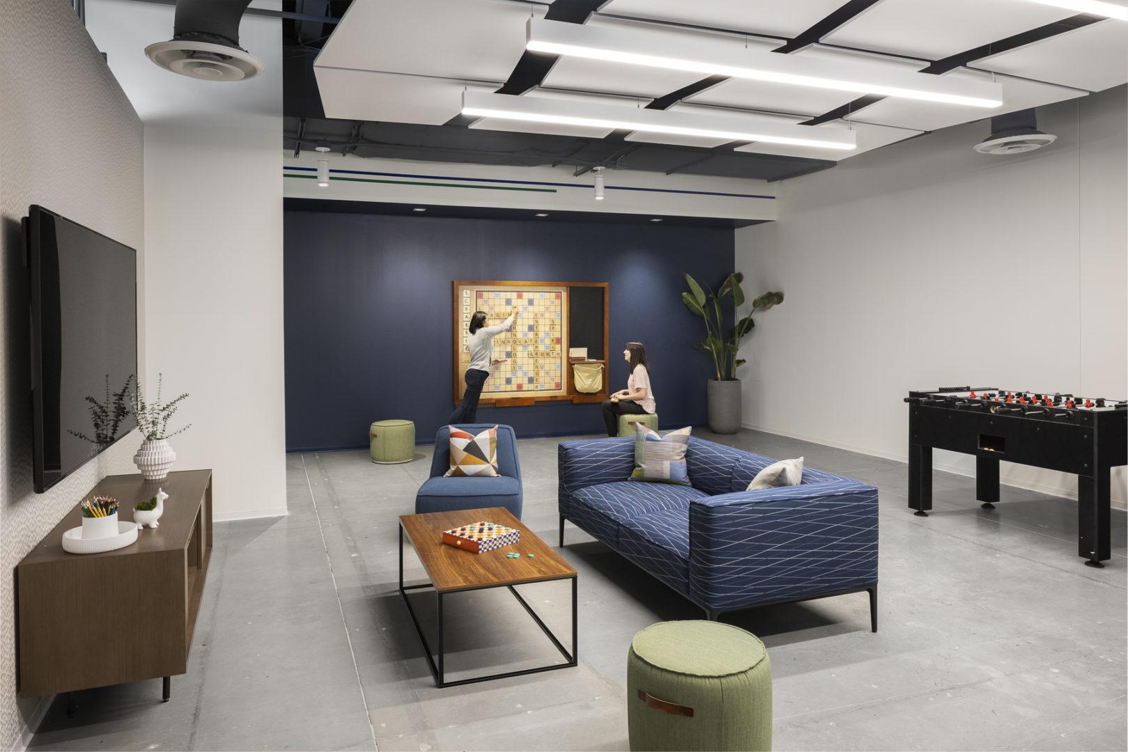 Cognizant game room