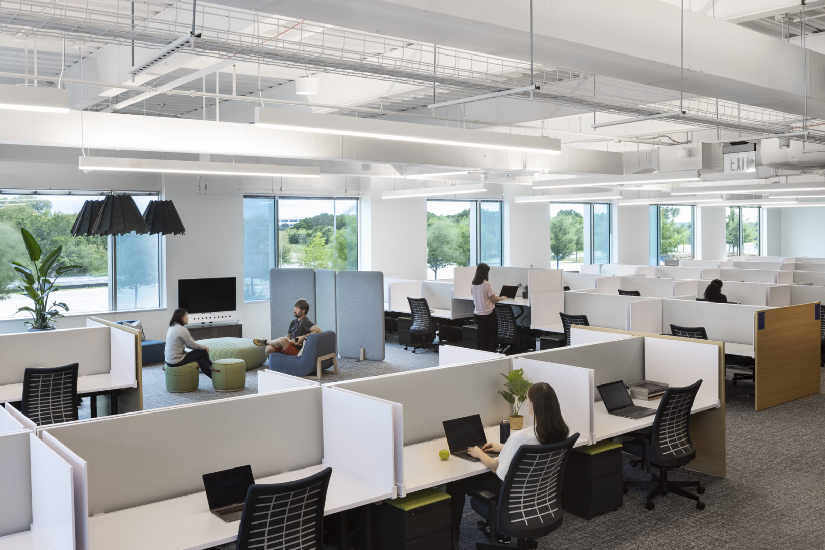Cognizant open work area
