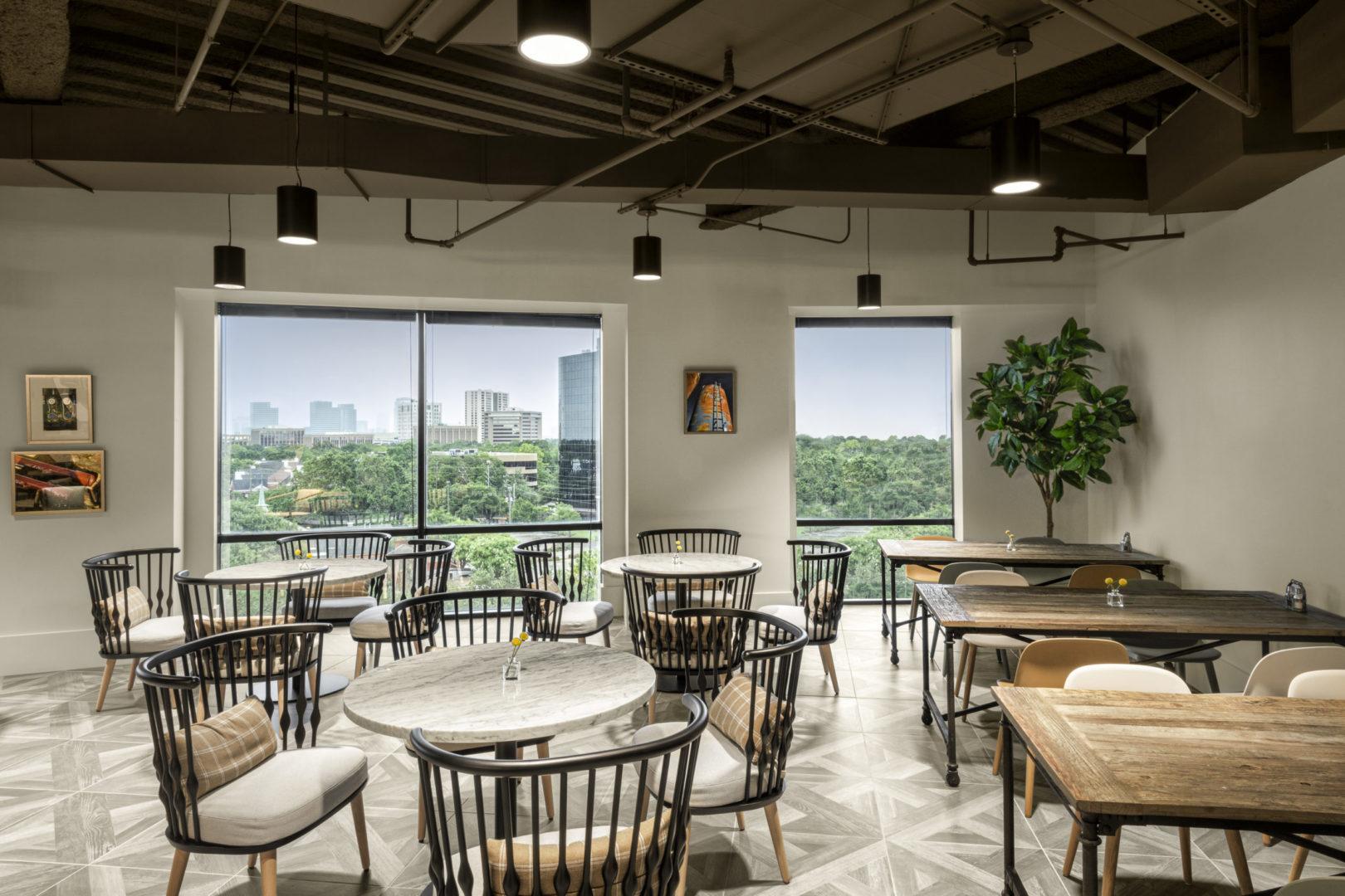 Encino Energy_Breakroom Seating Design