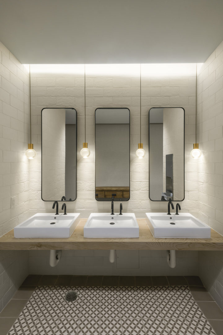 Encino Energy_Corporate Bathroom Design