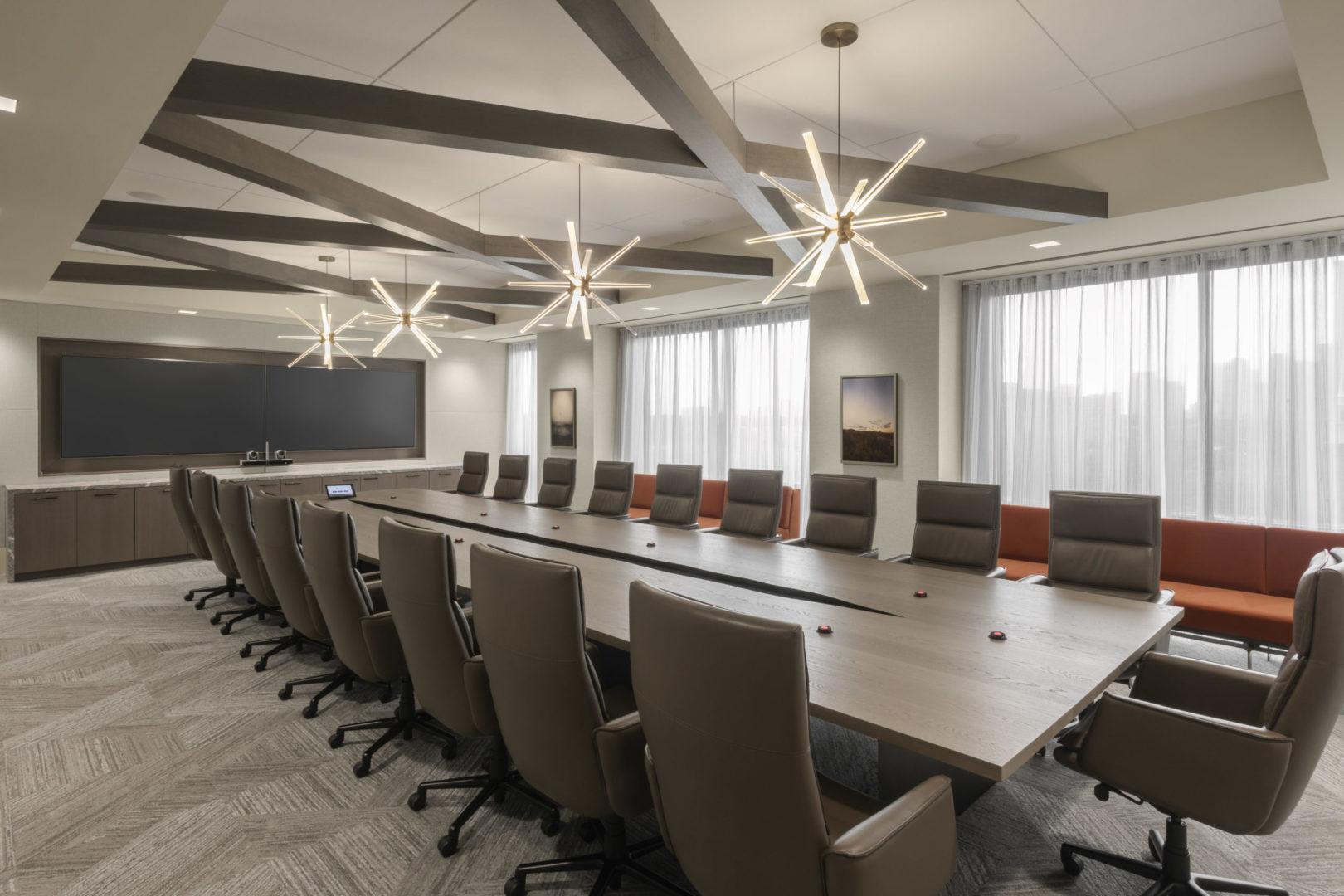 Encino Energy_Executive Conference Room Design