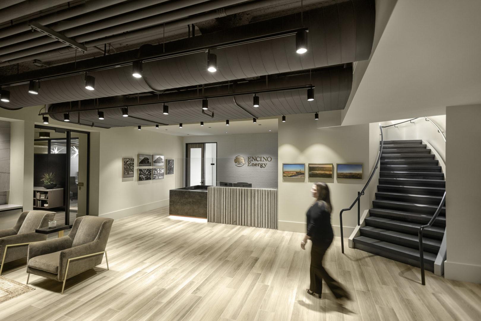 Encino Energy_Reception Area Design
