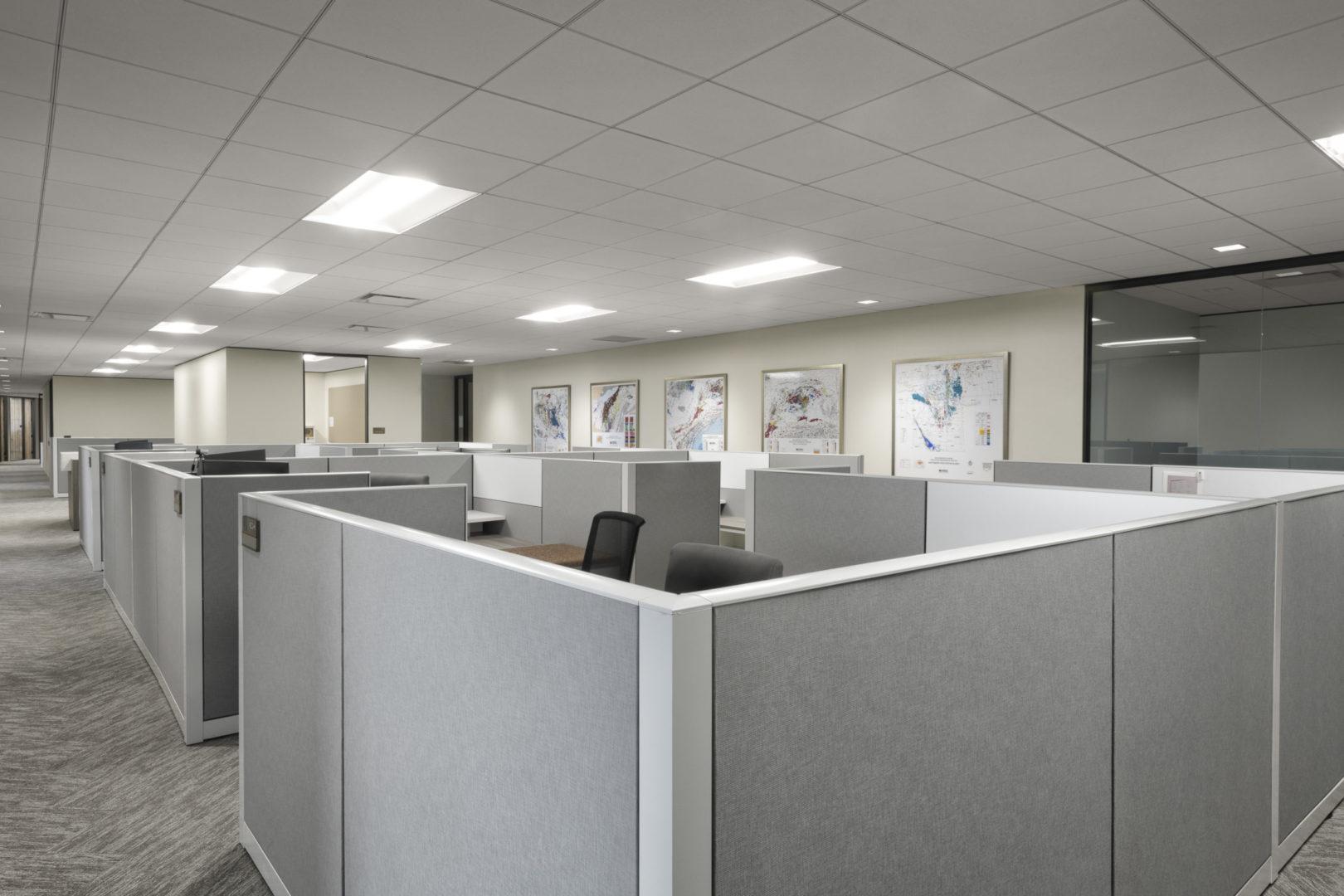 Encino Energy_Repurpose Open Office Area Design