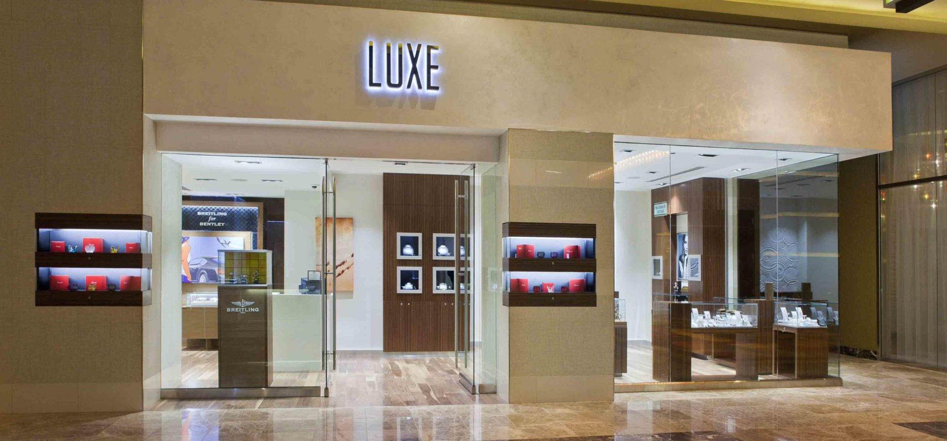 Golden Nugget Retail Stores: Luxe