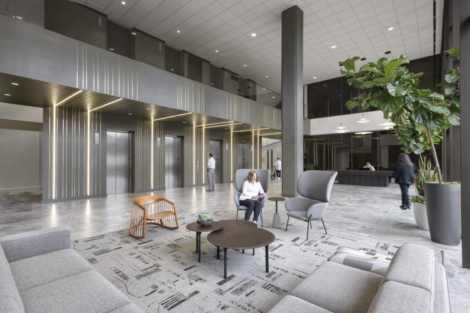 Memorial Tower I _ Main Lobby Design