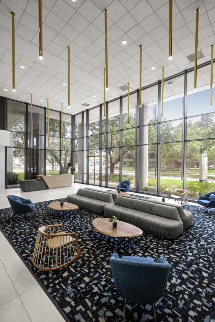 main lobby reception area