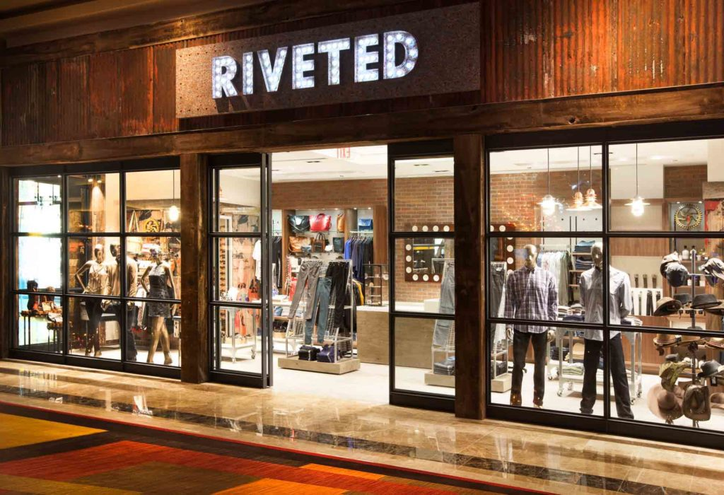 Golden Nugget Retail Stores: Riveted