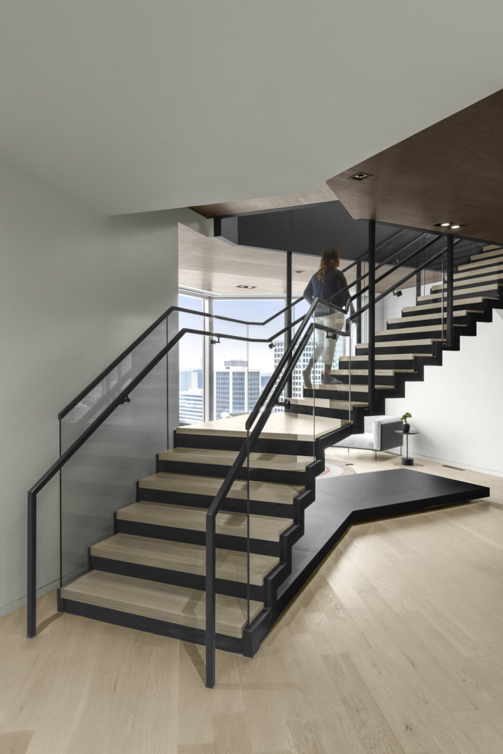 sideview of stairs