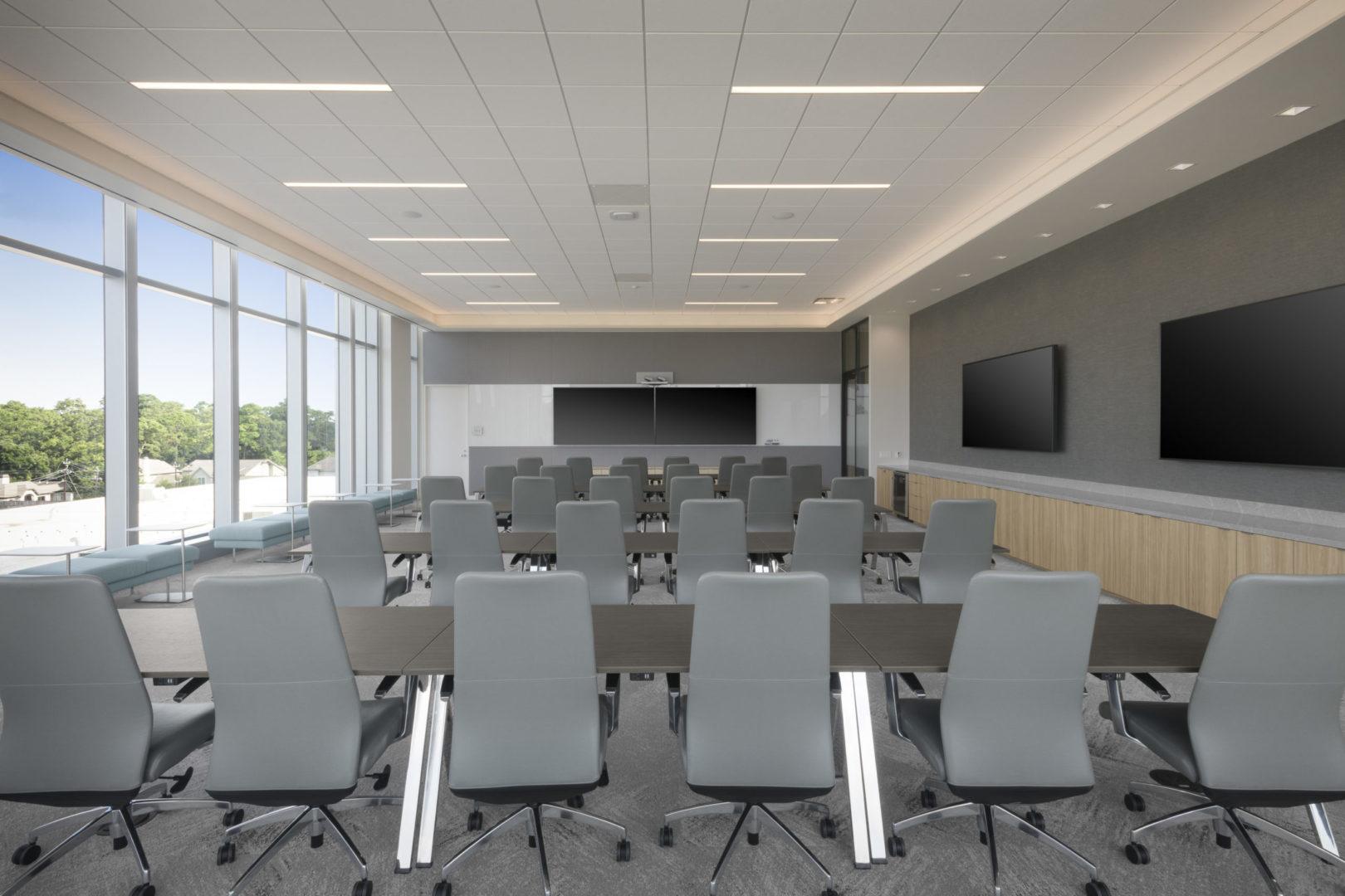 Fortune 500 Tech _ Training room