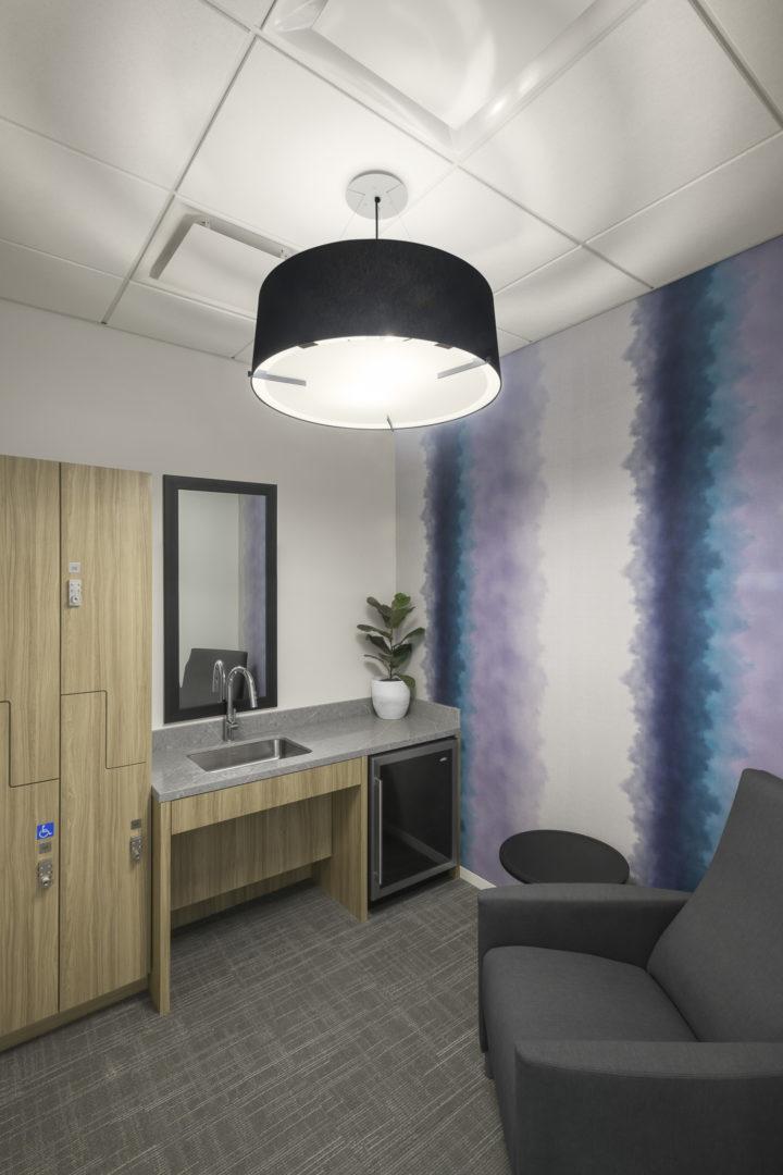 Fortune 500 Tech_wellness room